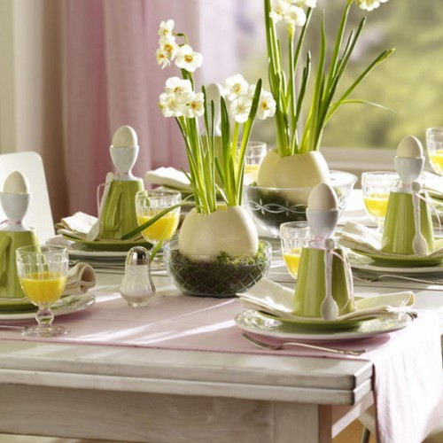 35 Cool Easter Table Serving Ideas