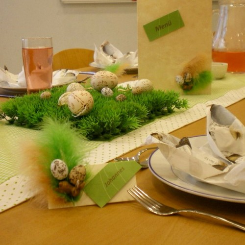 Easter Table Serving Ideas