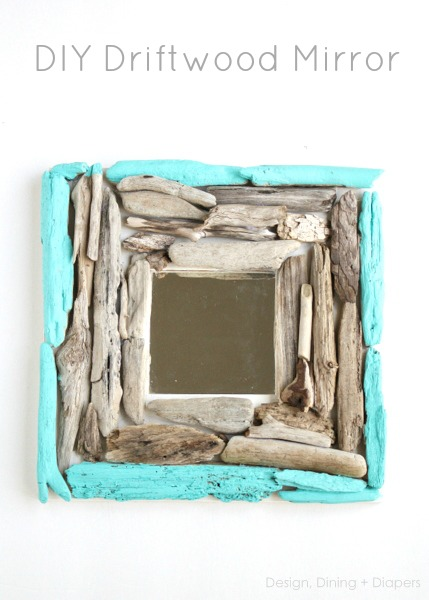 painted square mirror (via designdininganddiapers)