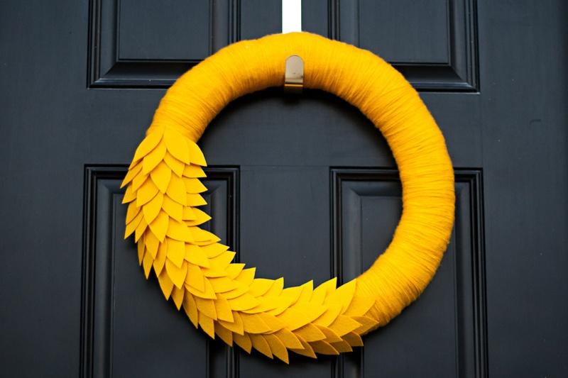 bold fall wreath