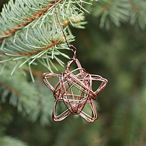 star wire ornament