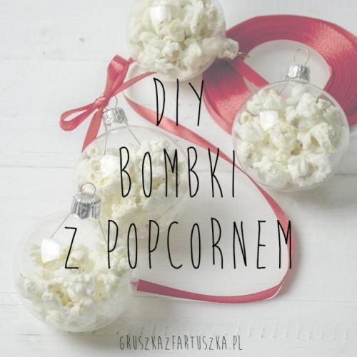 popcorn Christmas ornaments (via gruszkazfartuszka)