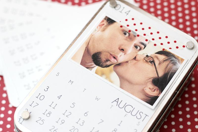 easy gift calendar