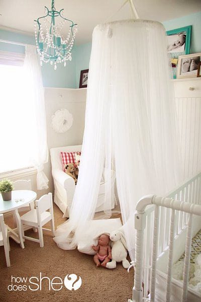 dreamy canopy tent (via howdoesshe) & 7 Easy And Cool DIY Kidsu0027 Canopy Tents For Indoors - Shelterness