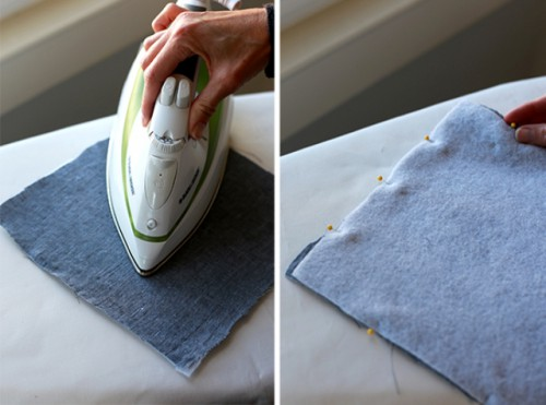Easy And Cool DIY Linen Potholders
