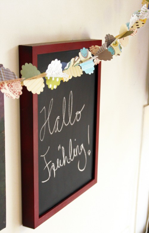DIY 3D spring garland (via artsyants)