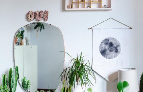 Easy And Dreamy La Lune Fabric Wall Art