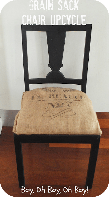 kitchen chair upcycling (via boyohboyohboycrafts)