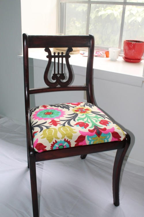 dining room chairs makeover (via https:)