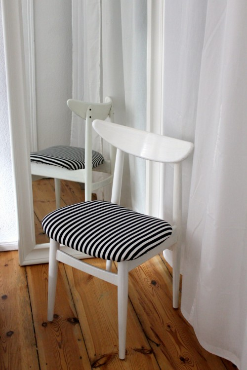upcycling old chairs (via nowaddsugar)