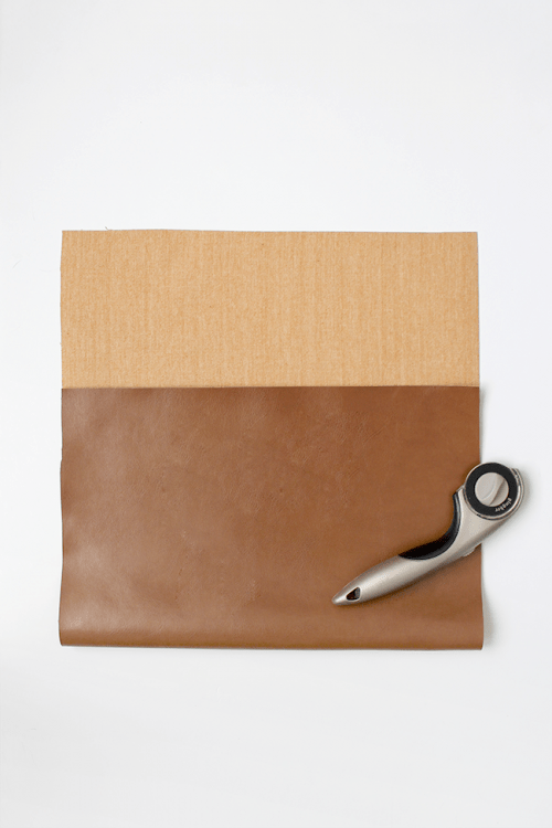 Easy And Quick DIY Leather Laptop Case