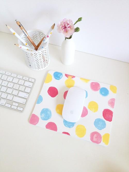 confetti mouse pad (via makeandtell)