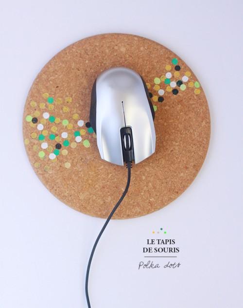 polka dot mouse pad (via fraise-basilic)