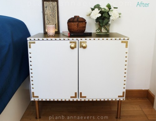 Creative Diy Bedside Table Easy Diy Bedside Table