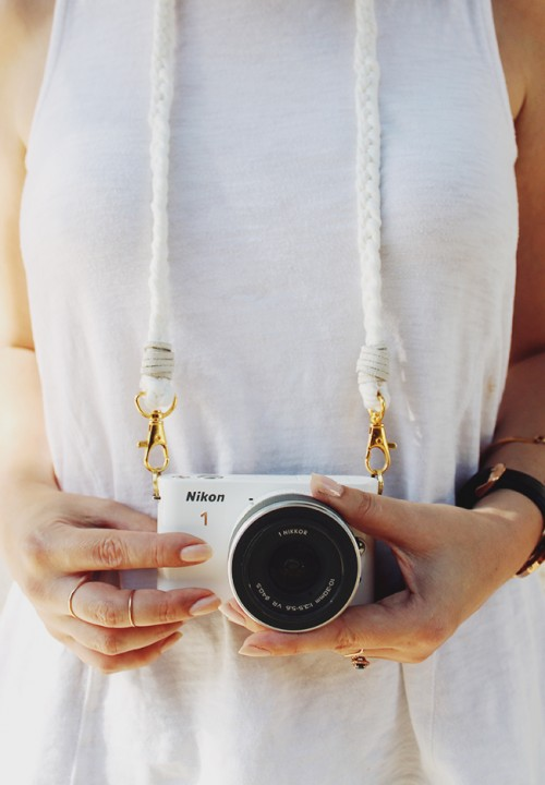 Easy DIY Braided Camera Strap To Make