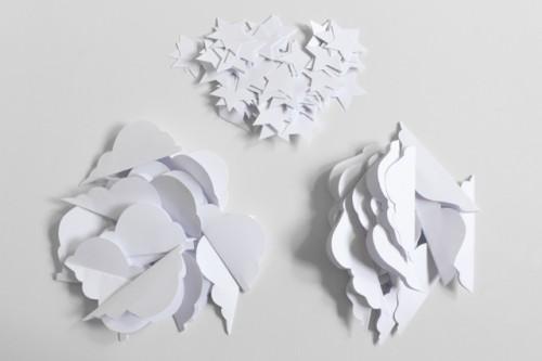 Easy DIY Christmas Paper Garland