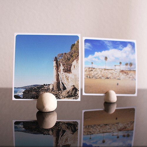 Easy Diy Clay Photo Display For Instgram Prints