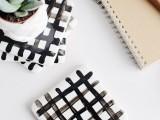 easy-diy-crisscross-coasters-from-tiles-9
