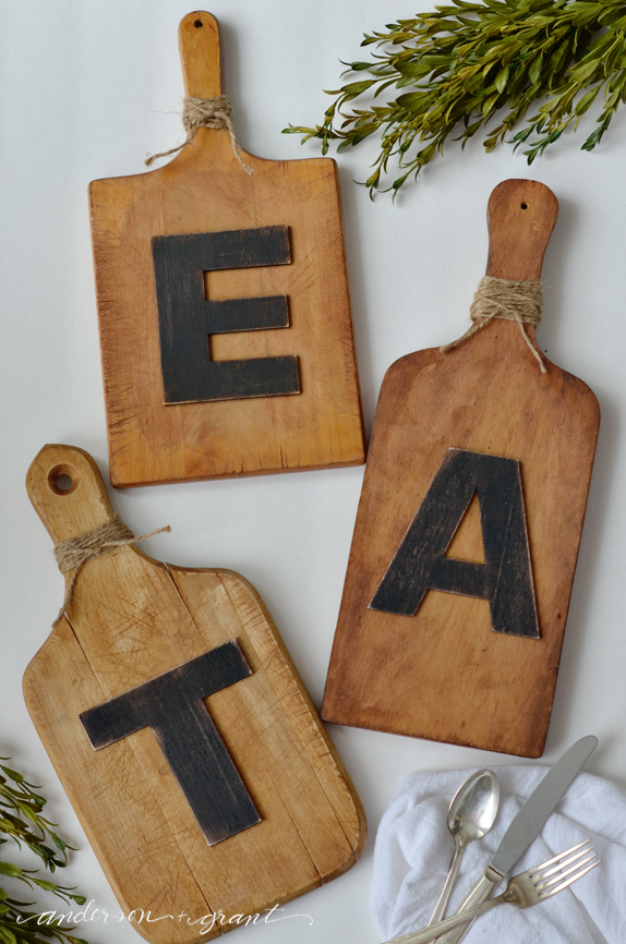 Picture Of easy diy cutting board wall art  5