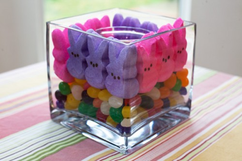 funny marshmallow centerpiece (via allparenting)
