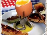 fork egg holders