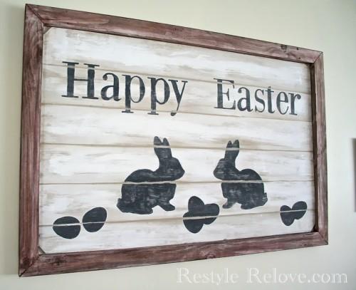 farmhouse Easter sign (via restylerelove)