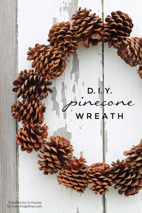 10 Easy Diy Fall Pinecone Wreaths You Need To Try Shelterness