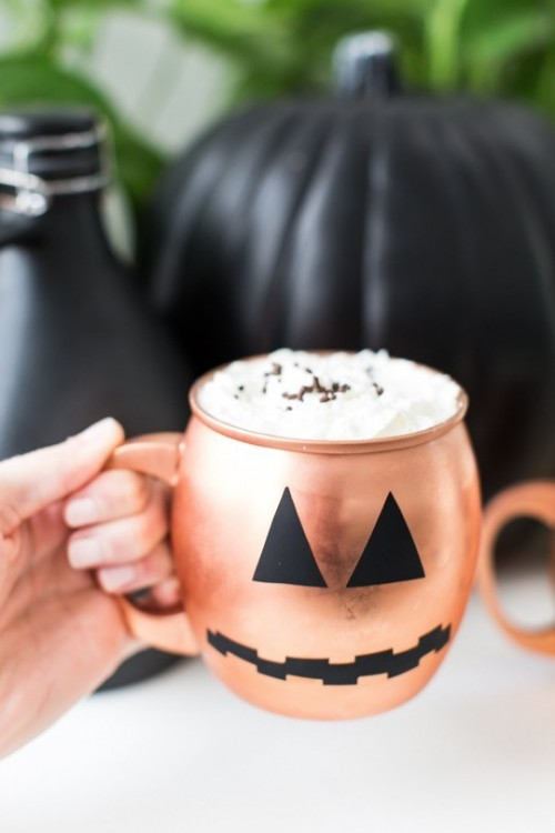 Easy Diy Halloween Glassware Decals