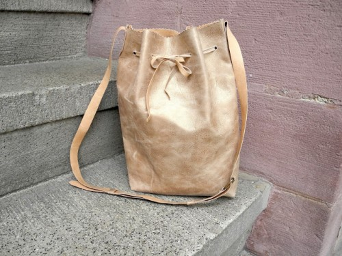 Easy DIY Leather Backpack