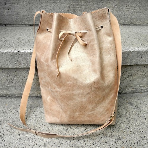 Easy DIY Leather Backpack - Shelterness