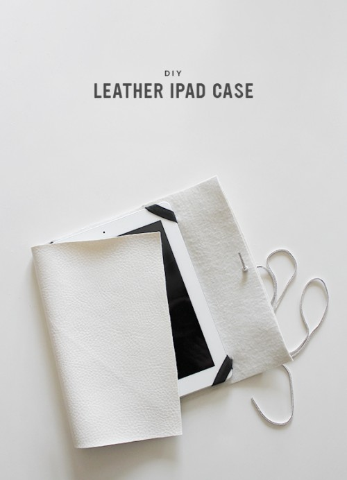 Easy Diy Leather Ipad Case