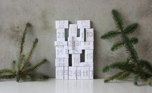Easy DIY Matchbox Advent Calendar