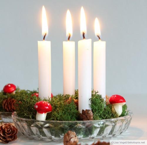 Easy DIY Mini Advent Decoration For Christmas