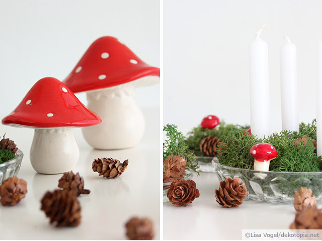 Picture Of easy diy mini advent decoration for christmas  2
