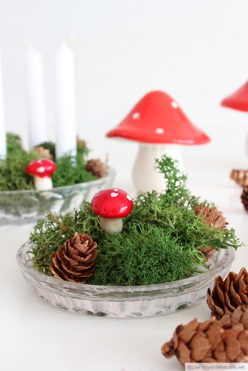 Easy DIY Mini Advent Decoration For Christmas