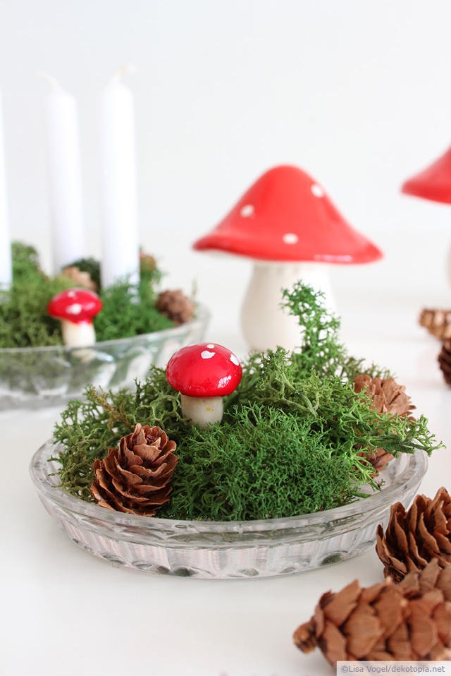 Picture Of easy diy mini advent decoration for christmas  5