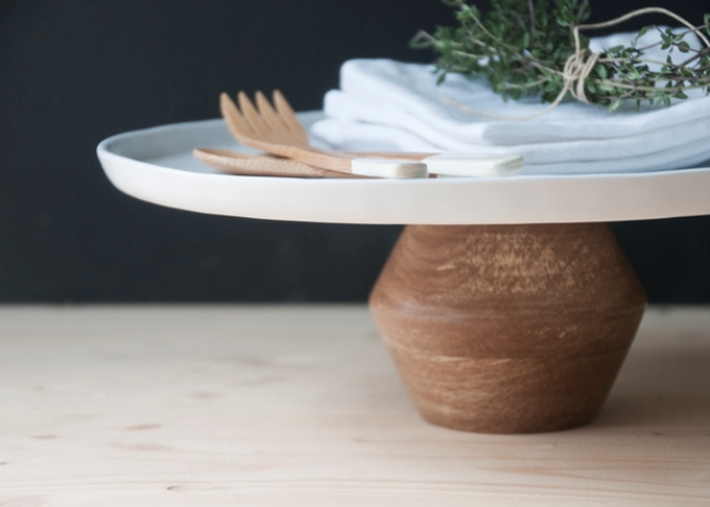Picture Of easy diy modern cake stand in a minute  2