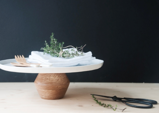 Picture Of easy diy modern cake stand in a minute  6