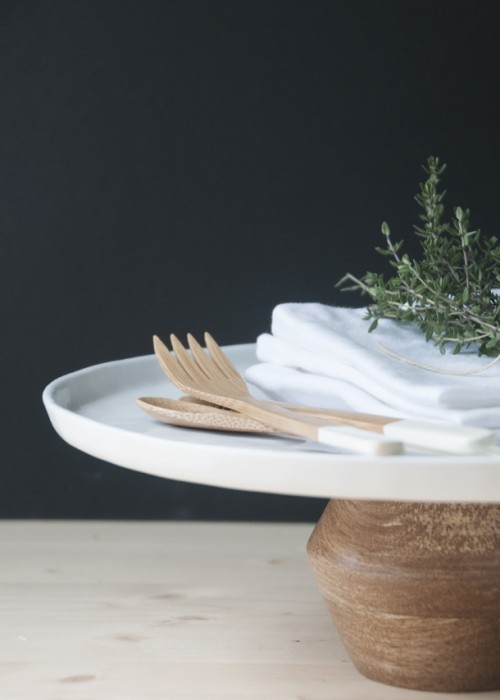 Easy DIY Modern Cake Stand In A Minute