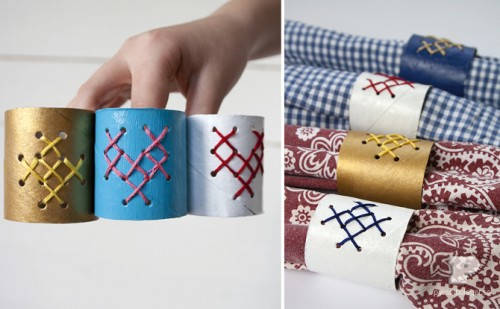 Easy Diy Napkin Ring To Make With Your Kids