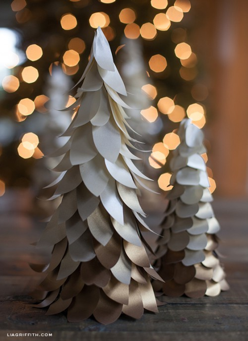 11 Easy DIY Ombre Christmas Decorations