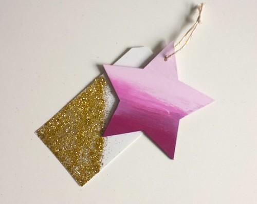 ombre star decoration (via thebijoubride)