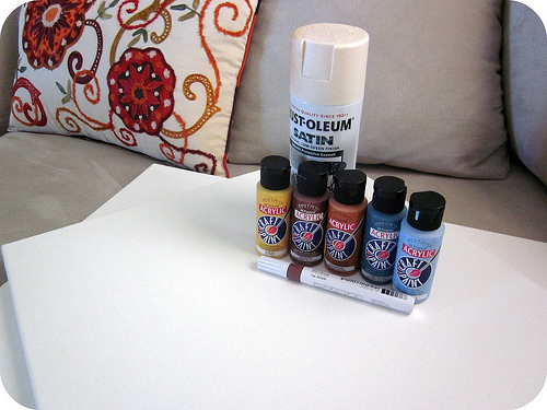 Easy Diy Painted Wall Art Piece