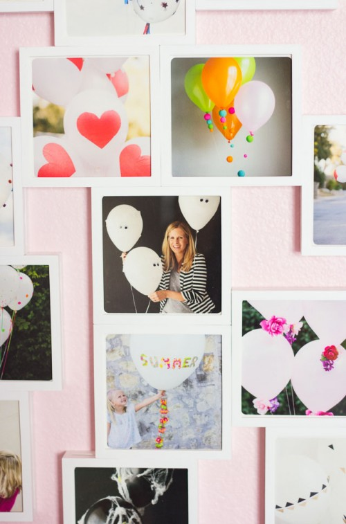 Easy DIY Photo Wall Using Fotobit Frames