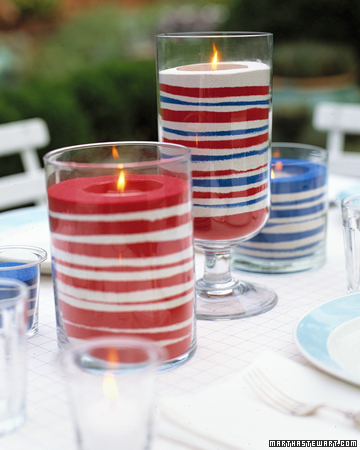 Easy Diy Sand Candles For 4th Of July