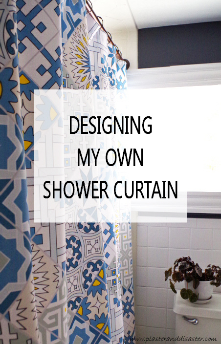 creative shower curtain (via plasteranddisaster)