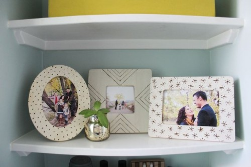 Easy DIY Wood Burned Photo Frames