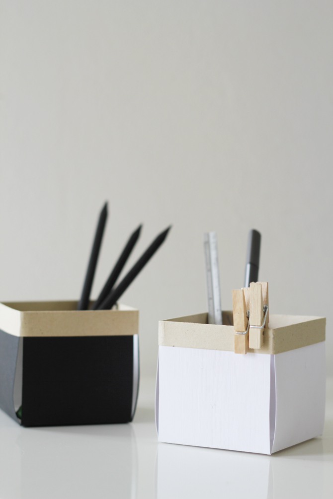 little desk box organizer