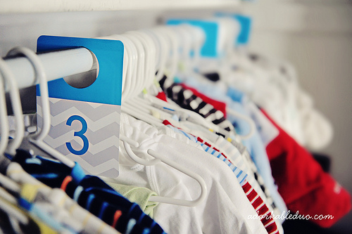modern closet dividers (via adorkableduo)