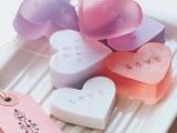 DIY valentine's day soap